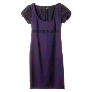 New Love Moschino purple short sleeve dress